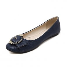 The basic things women flat shoes round comfortable flat shoes large size women shoes black