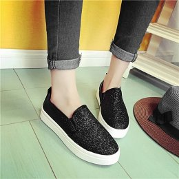 Sleeve casual shoes, flat shoes breathable lazy idle women flat shoes Loafer