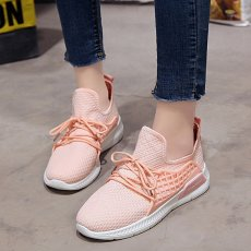 Women stretch fabrics solid cross bundled casual shoes running shoes gym shoes