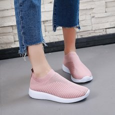 Women outdoor casual slip mesh shoes comfortable running sneakers soles