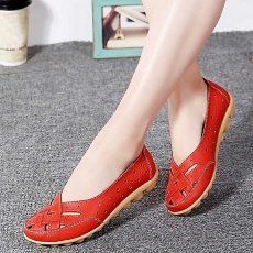 Shoes ankle leather slippers women sandals flat shoes casual soft shoes